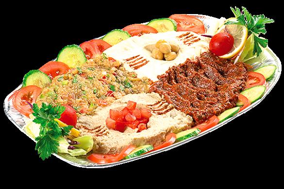 platou libanez cu aperitive mix