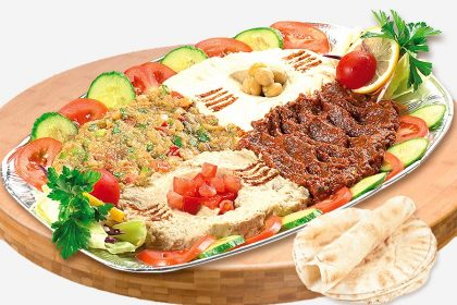 Platou libanez aperitiv rece 4 persoane – 1000g