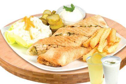 Meniu sandwich BBack de pui – 400g